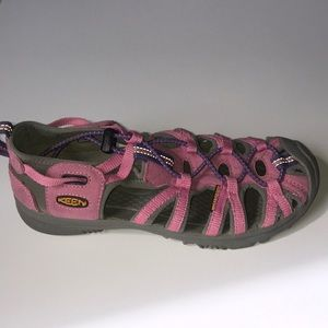 KEEN Water Shoes Pink Purple Kid Girl Sz 4 EC